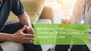 Importance of Communication During a Disability Claim