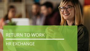 Return to Work | HR Exchange