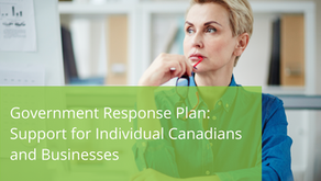 Government Response Plan: Support for Individual Canadians and Business