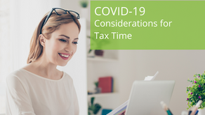 COVID-19 Considerations for Tax Time