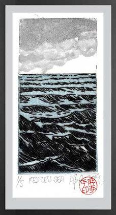 RESTLESS SEA. Etching