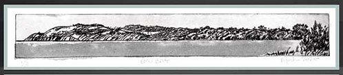EMU BAY.   Drypoint etching