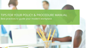 Highlights from our Tips for your Policy and Procedure Manual Panel Discussion