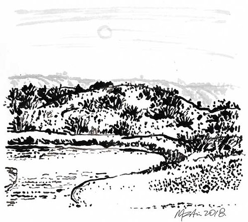 LANDSCAPE 10. Drawing