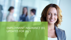 Employment Insurance (EI) Updates for 2021