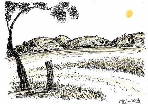 LANDSCAPE 7. Drawing