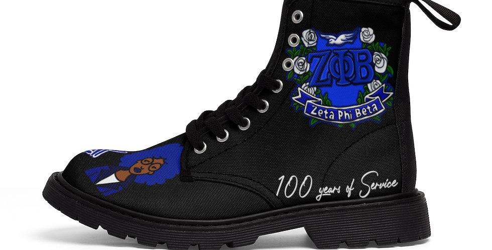 Zeta Centennial Boot (Black)