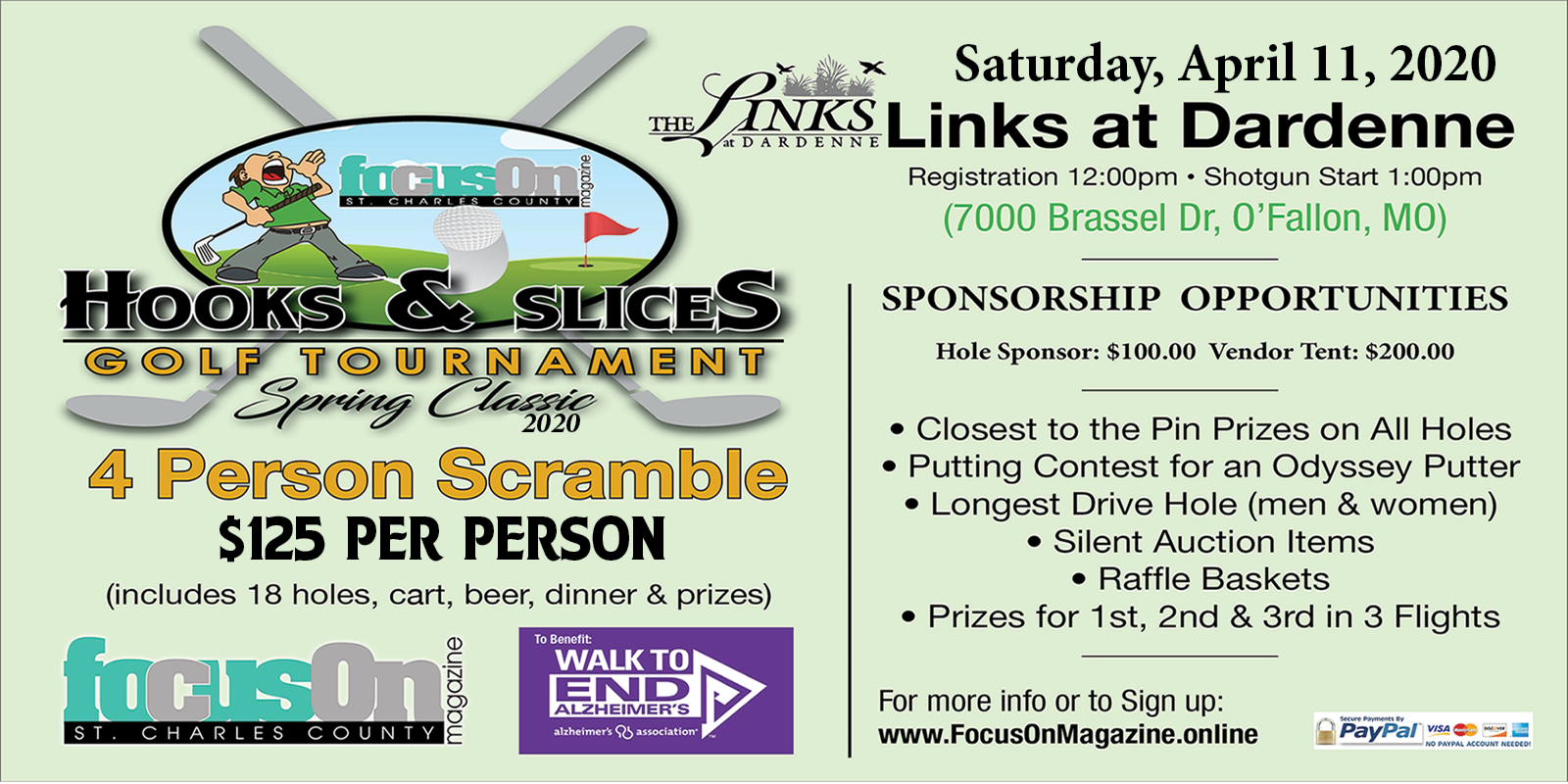 Hooks & Slices Golf Tournament