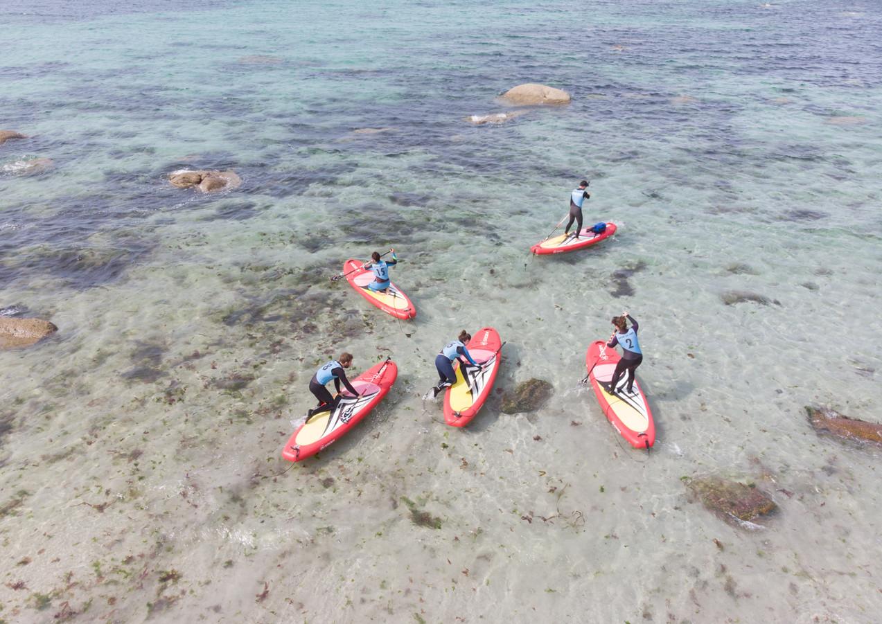 Paddle accrobatique avec Surfing des Abers - Plouguerneau