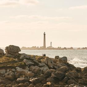 Ile Vierge depuis le sentier côtier © Alexandre Lamoureux