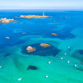 L'Ile Vierge et la côte de Plouguerneau©Thibault Poriel