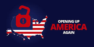 Guidelines for opening up America again