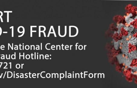 Beware of Medicare Fraud during COVID-19