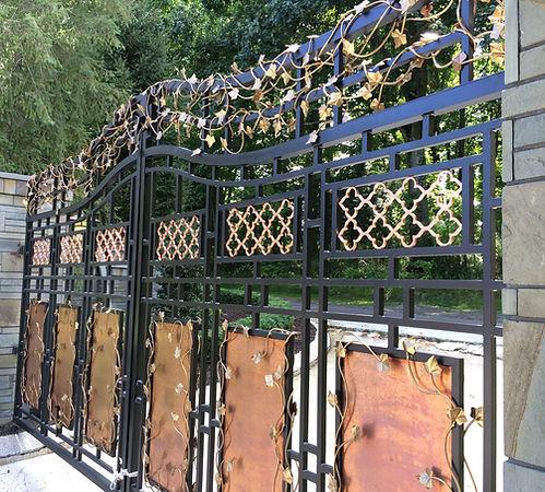 Aluminum gates, Custom entry gates