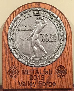 NOMMA top job award driveway gates