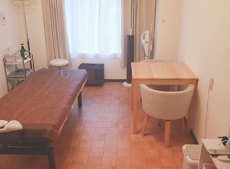 3階の部屋 少し模様替えしました