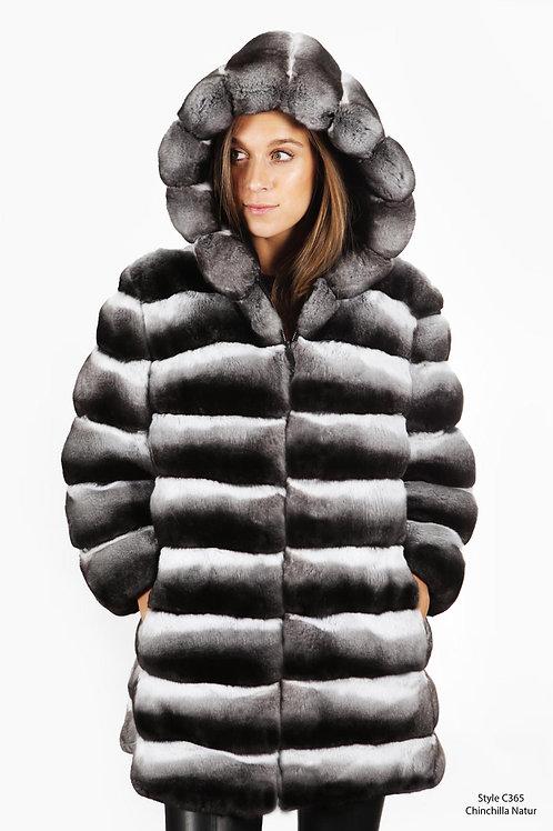 Chinchilla sportive jacket