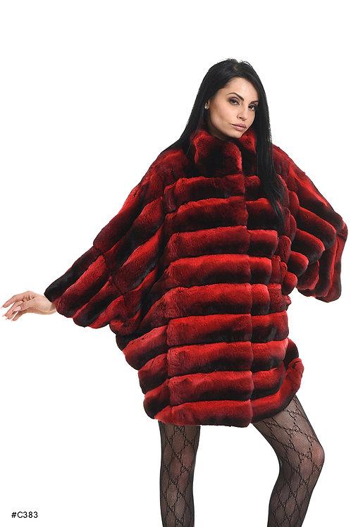Chinchilla Oversize kimono jacket