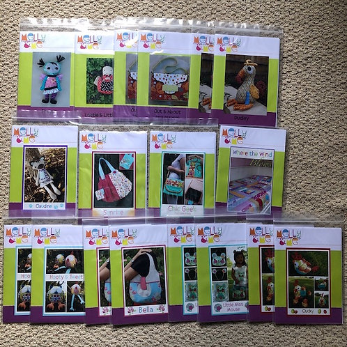 Melly & Me/Matching Peg Pattern Collection