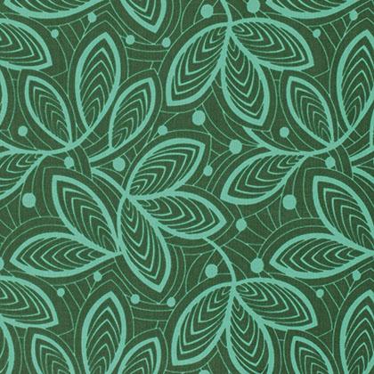 violette leaf lines jade