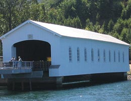 Lowell Covered Bridge
