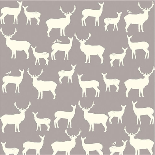 birch ELK FAMILY grey