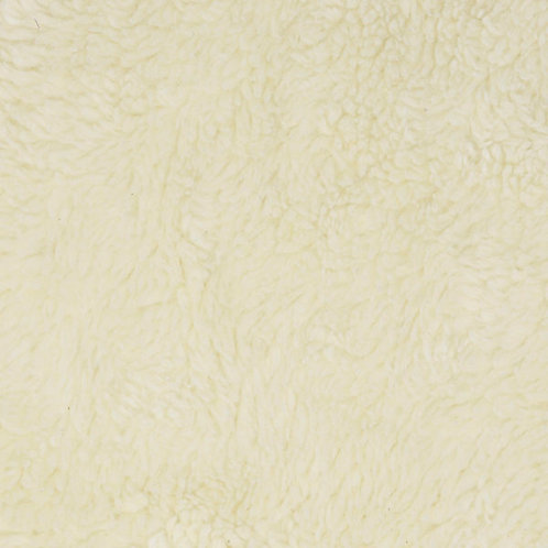 Organic Cotton SHERPA cream