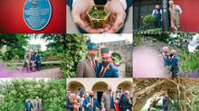 John & Gareth's Wedding, Aberglasney Gardens & The Cawdor Hotel, Llandeilo