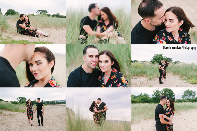 Emma & Anthony's Pre-Wedding Shoot, Swansea Bay
