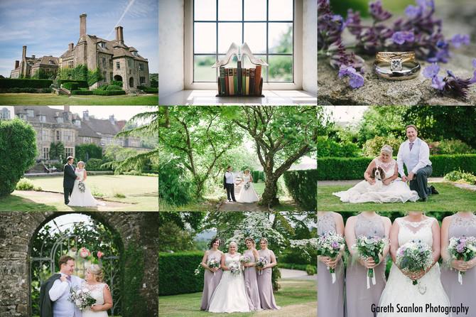 Cheryl & Aled's Wedding, Llangoed Hall, Llyswen