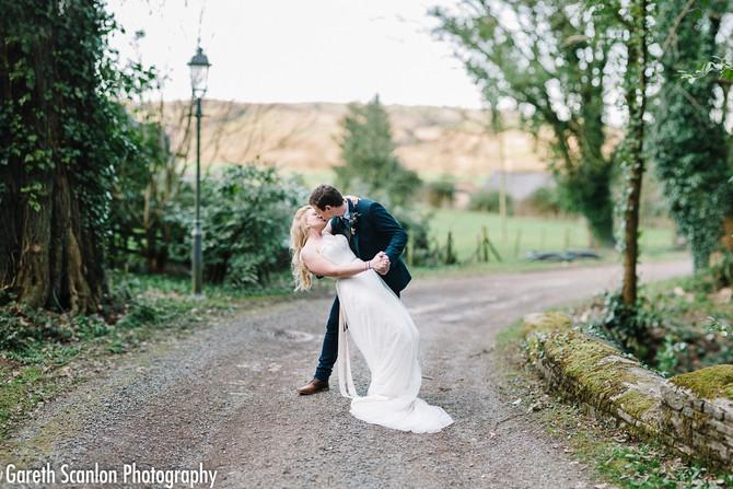 Emily & Dan's Wedding, Llangoed Hall, Llyswen