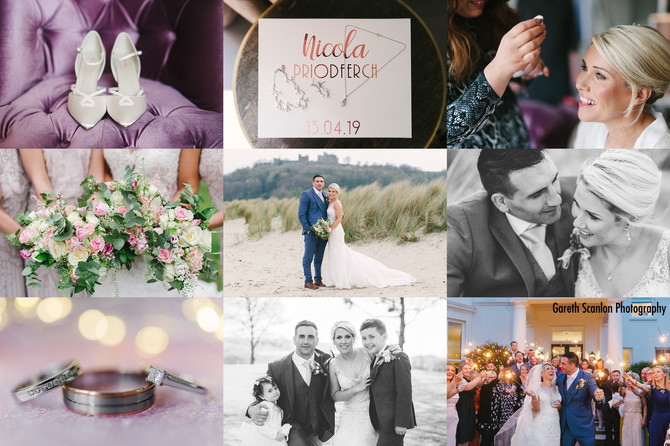 Nic & Owain's Wedding, Mansion House, Llansteffan