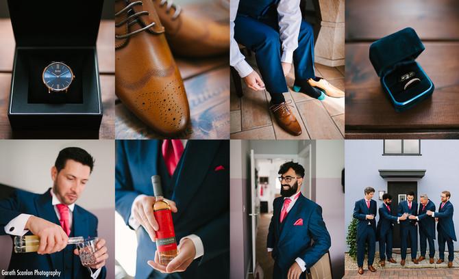 Is groom prep as important as bridal prep ?