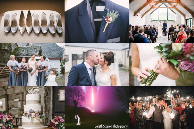Gemma & Paul's Wedding, Carreg Cennen Castle, Trapp