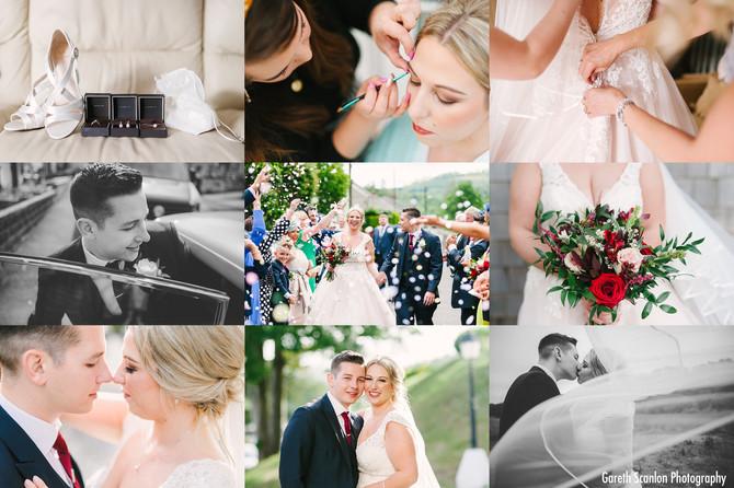 Katie & Callum's Wedding, Sacred Heart RC Church, Ystradgynlais & The Stradey Park Hotel