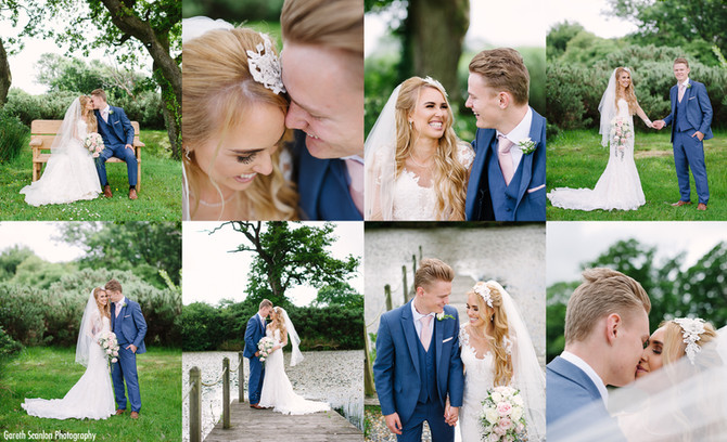 Rachael & Alex's Wedding, Misson Hall Neath & Oldwalls, Gower