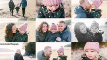 Angharad & John's Family Shoot, Llansteffan Beach