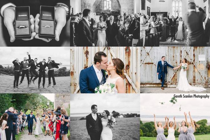 Karys & Ben's Wedding, Ocean View, Gower