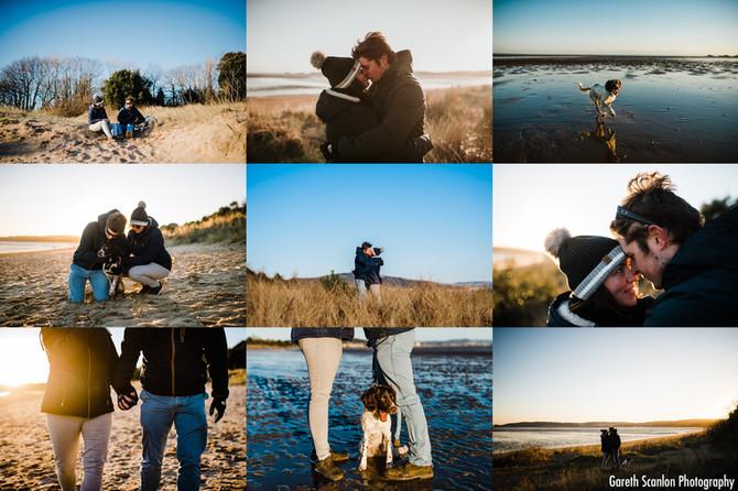 Rosie & Mike's Pre-Wedding Shoot, Swansea Bay