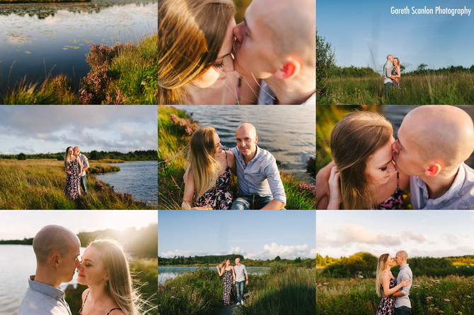 Becky & Alex's Pre-Wedding Shoot, Llyn Llech Owain