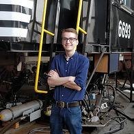 Matthew Rutkowski, Production Manager for the Magic Lantern