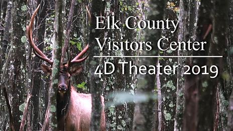 Elk Visitor Center 4D Theater 2019