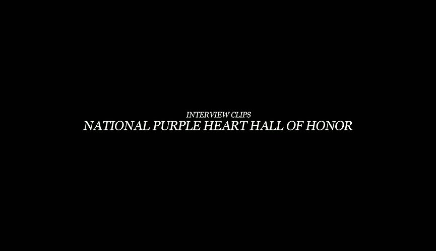 The National Purple Heart Hall of Honor Exhibit