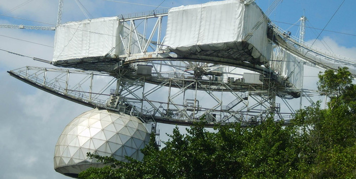 Arecibo Observatory Radio Telescope