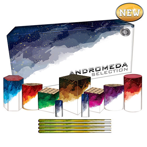 Andromeda Selection Box by Zeus Fireworks