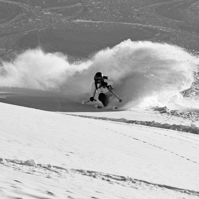 Martijn likes skiing too!