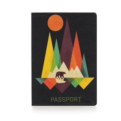 Protège passeport - Forêt Picasso