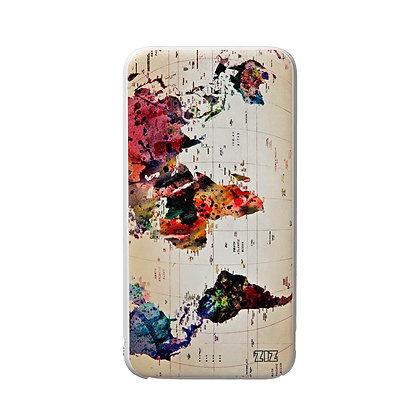 Batterie externe 5000mAh : Carte coloré