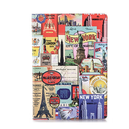 Protège passeport - Capitales du monde