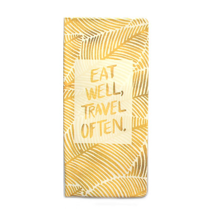 Pochette de voyage - Eat well, travel often